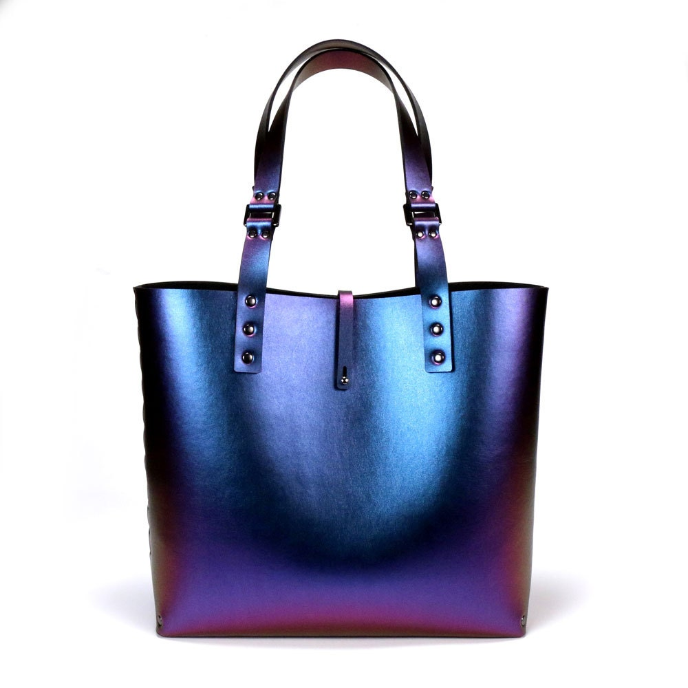 Mohop Peacock Iridescent Tote Bag
