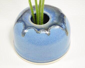Japanese Flower Bowl - Japanese Arranging - Japanese Flower Pot - Japanese Vase - Bud Vase Ikebana - Ceramic Ikebana - Vase Ikebana -InStock