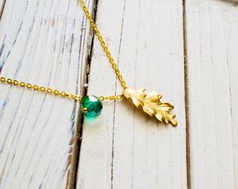 Oak Leaf Chain