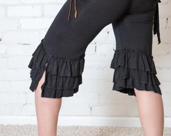 Umba Pirate Pants - Yoga - Dance - Ruffles