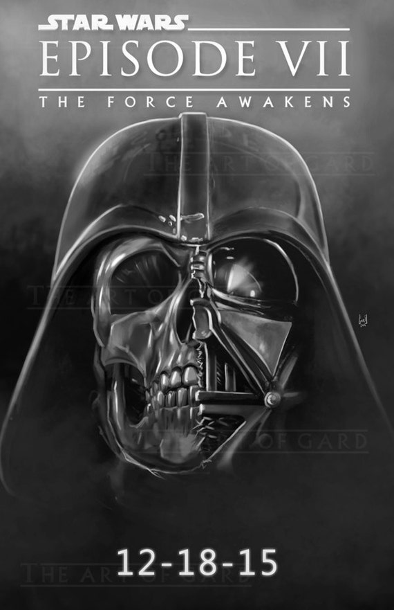 Star Wars Episode VII The Force Awakens (movie poster) 11X17 Print