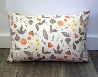 Floral Pillowcase - Travel, Toddler, or Standard Size
