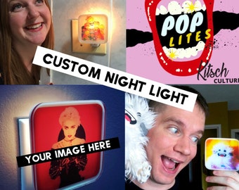 Custom Night Light, Personalized, Photo Gift, Mothers Day Gift, Gift for her, Pet memorial, Housewarming gift, Bridesmaid gift, Baby Shower