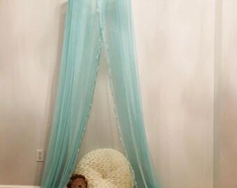 Sleep / Play Room Canopy, Crib Canopy, Baby Room Canopy, Bed Canopy, Modern Nursery Decor, Modern Canopy, Sparkly, Hanging Canopy