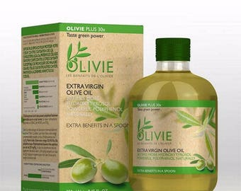 Olivie Plus 30X - Certified Organic Olive Oil
