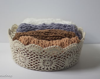 Thin Knit Bump Blanket, Photo Prop Knitted Baby Layer Blanket, Prop Blanket, Basket Filler Blanket, Photography Props