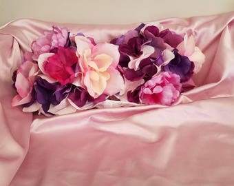 Lilac Floral Festival Bra