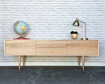 """SPRING SALE!!! Rochdale Credenza / Media Stand 72"""" - Brown Maple -In Stock!"""