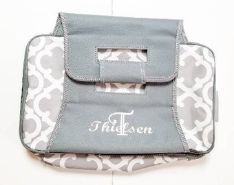 Monogrammed Insulated Casserole Carrier - Food Carrier - Food Tote - Potluck Carrier - Food Insulated Bag - Personalized Carrier