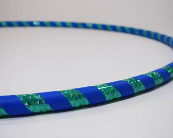 Caribbean Ice // Collapsible Hula Hoop // Custom // Made to Order // Great Gift // Fitness // Exercise // Workout // Dance // Birthday