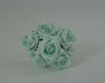 Wedding Posy - Perfect for Bridesmaids ( Peppermint )