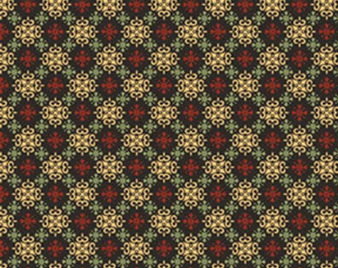Half Yard Apple Picking Time - Orchard Medallion in Multi - Cotton Quilt Fabric - Benartex (W1822)