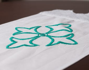 Wasillia Blue Flower Cloth