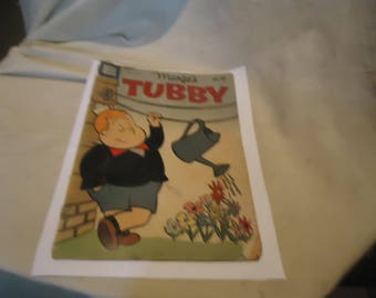 Vintage 1959 Marge's Tubby No.34 Clothes Line Comic Book Dell Comics, collectable