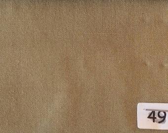 High quality cotton poplin, brownish khaki no49