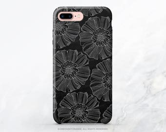 iPhone 8 Case iPhone X Case iPhone 7 Case Chalk Floral iPhone 7 Plus Case iPhone 6s Case iPhone SE Case Galaxy S7 Case Galaxy S8 Case I55