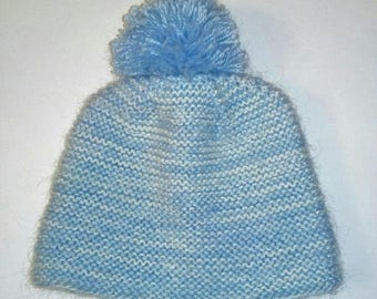 Baby Hat, Choose Your Colors,knit by hand