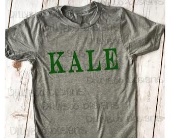 Kale Tshirt | Veggie Tshirt | shirt for vegan | Shirt with sayings | funny shirt | Kale | vegetarian shirt | Vegan clothes | vegan shirt