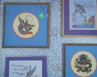 Figments of Fantasy, Pegasus, Pattern Leaflet #147, 1988