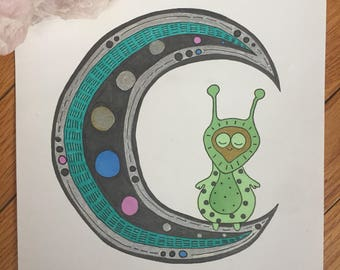 Martian on the Moon