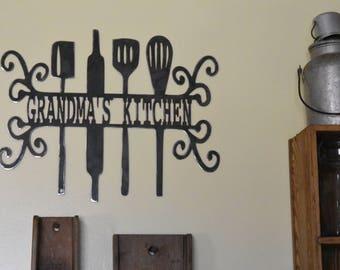 Grandma's Kitchen wall hanging