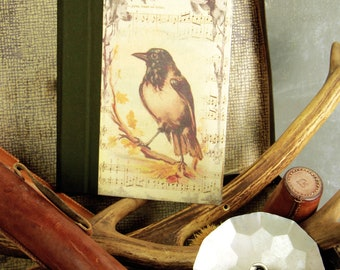 "Hunt hunting notebook ""Crow"" Hunter Huntress game birds sauvaginier bird small game"