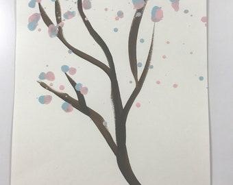 Blue Pink Tree WESH