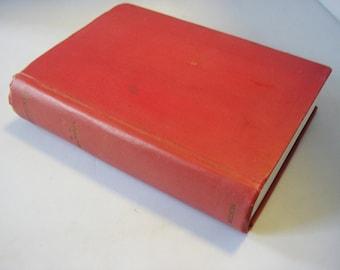 Vintage book Vanity Fair William Makepeace Thackeray hardback c1950 romance social satire literary fiction 321