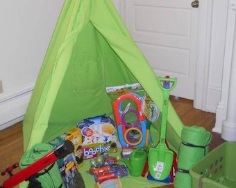 Kid's Reading Play TeePee Tent Pattern - Fundraisers or Gifts
