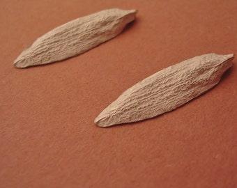 poplar seeds sterling silver castings metalsmith supplies US100-2