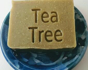 Dead Sea Mud Shampoo Bar - with Tea Tree and Neem for Oily Hair Types - Bar Shampoo, Natural Shampoo Bar, Shampoo Bars, Solid Shampoo