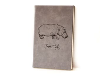 Team Fiona / Leather Journal