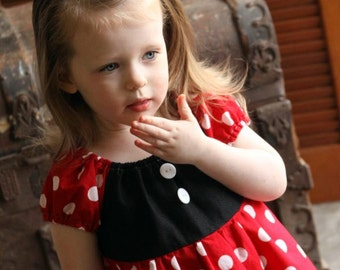 Minnie Mouse Dress Disney Inspired