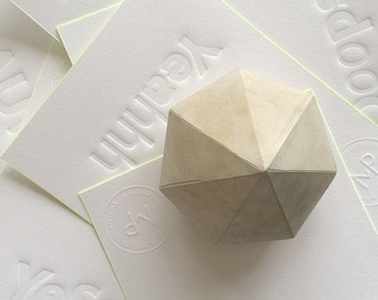 Concrete Diamond, paperweight, presse-papier, Shine bright like a diamond!