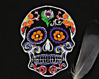Patch skull, Colorful patch