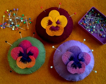 The Pansy Pincushion