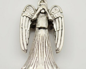 Doctor Who 3D  Weeping Angel Demons  1 charm