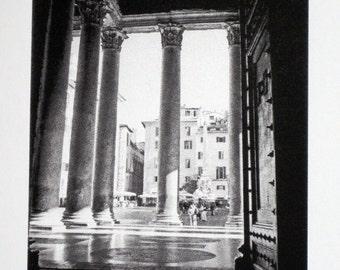 2 : Rome - Pantheon - limited edition screenprint