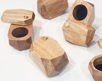 Ring Box, Wedding Ring Box, Jewellery Box, Wood Box