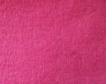 Raspberry Cotton Fabric - 2 1/2 Yards, 44 Inches Wide