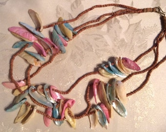 Bead and Shell Necklace