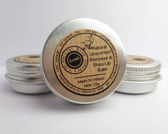 Natural Beeswax Lip Balm
