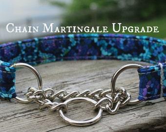 Chain Martingale, Dog Collar Upgrade, Martingale Dog Collar