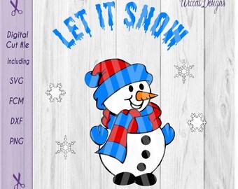 Snowman svg, Christmas files, christmas DIY, kids svg, cut file svg, paper, dxf cut file, scanncut, svg for cricut,  decoration svg
