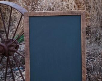 "Large Chalkboard, Wedding Chalkboard, Rustic Wedding, Farmhouse decor, Reclaimed wood from 100 year old vineyard,  22""x34"""