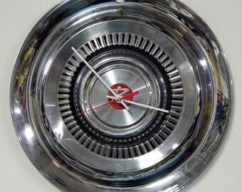 1963 Rambler Wall Clock - Automotive Hubcap Clock - AMC - American Motors