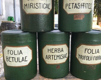 Fabulous C19 Herbalist Storage Containers