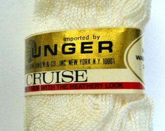 Yarn Unger Cruise Sport Yarn White 2 Skeins