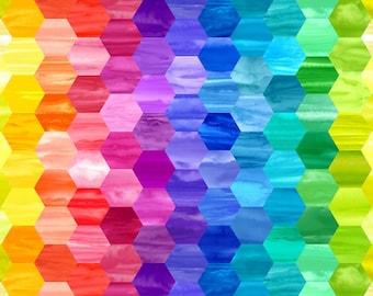 Bright Tonal Honeycomb Marcus Brothers fabric