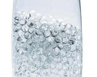 Wedding Supplies - Water Pearls-CLEAR-Centerpiece Wedding Tower Vase Filler-makes 6 gallons (8 oz pack) Wedding ideas reception theme ideas